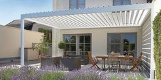 Pergola Attached To House With Swing - - - Pergola Garten Rund - Pergola Attached To House Beams - Pergola Terrasse Recup Home And Garden, House Design, Garden Design, House Exterior, Patio Design, Pergola Designs