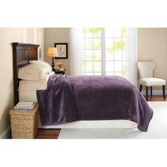Better Homes and Gardens Royal Plush Full/Queen Blanket - Walmart.com $27.96