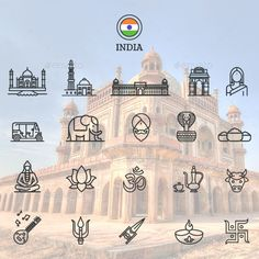 This collection of icons depicts a well known building or ideogram from more 10 cities around the world.. What's included: Fully customizable AI and EPS files Perfect to use for travel guide and...