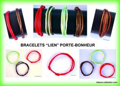 Bracelet lien porte-bonheur