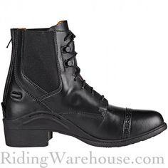 Ovation Synergy Lace Zip Paddock Women's Boots Black