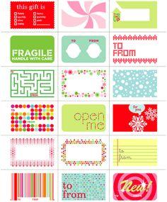 Imprimibles: ¿Personalizamos nuestros regalos?