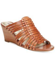 White Mountain Capital Wedge Sandals
