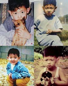ChanBaek Similar childhood photos ❤️ Park Chanyeol Exo, Kyungsoo, Team Minato, 5 Years With Exo, Cute Disney Drawings, Exo Lockscreen, Baekyeol, Childhood Photos, Exo Ot12