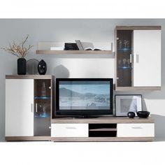 Sekcija sastāv no 4 elementiem Modular Furniture, Furniture Decor, Tv Cabinets, The Unit, House Design, Interior Design, Home Decor, Wall Units, Euro