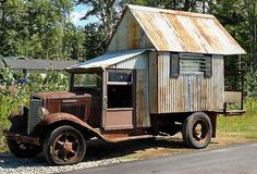 Moving up from trailer, to motorhome. Mini Camper, Truck Camper, Pickup Camper, Pickup Trucks, Vintage Rv, Vintage Caravans, Vintage Travel Trailers, Vintage Campers, Vintage Motorhome