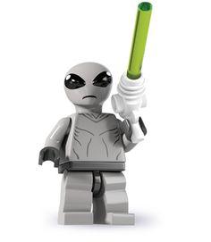 LEGO MINIFIGURES SERIE 11 71002 ROBOT MASCHIO  NUMERO 4   NUOVO