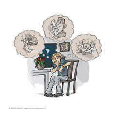"""Wer sich Sorgen macht, brütet ungelegte Eier aus. Wenn Sie zu viel Energie in etwas investieren, was noch gar nicht eingetreten ist, dann erhöhen Sie damit die Wahrscheinlichkeit, dass es irgendwann tatsächlich eintritt.  Denn in Ihrem Leben wächst immer das, in das Ihre Lebensenergie fließt. Mehr dazu in Kapitel 20 (""""Sorge für mich!"""") meines Buches """"Mach mich glücklich"""".  www.machmichgluecklich.de One Day, New Books, Investing, Eggs"""
