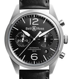 WEGELIN Bijoutier à Grenoble » BELL&ROSS BR 126 ORIGINAL BLACK