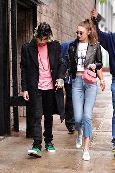 Gigi Hadid Daily — celebsofcolor: Zayn Malik and Gigi Hadid out in...