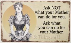 Do for Mother 10x6 TIN SIGN funny mom housework laundry kitchen chore dishes OHW