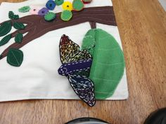 caterpillar, chrysalis, butterfly!  So cool.
