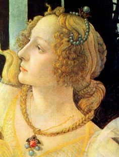From: Gallery Art New York Detail from Primavera, Sandro Boticelli, 1482