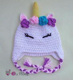 Crochet unicorn baby hat crochet unicorn beanie crochet girl