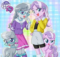 ThePonyArtCollection: Silver Spoon and Diamond Tiara