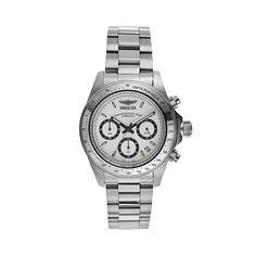 Invicta Men's Speedway Stainless Steel Chronograph Watch - KH-IN-7025, Grey