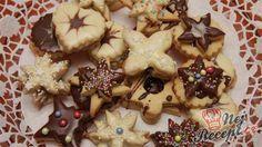 Sladké dobroty z lineckého cesta nemožu na Vianoce chýbať. Uložte si tento príspevok a určite sa vám zíde, keď príde váš čas na vianočné pečenie. Czech Recipes, Holiday Cookies, Shortbread, Christmas Baking, All Things Christmas, Gingerbread Cookies, Baked Goods, Cupcake Cakes, Biscotti