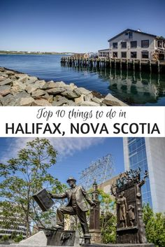 There's just something perfectly endearing about Halifax, Nova Scotia, making the city one of the top spots to visit on Canada's east coast. Thanks to the fresh seafood, friendly hospitality and pretty harbour, it's easy to see why!