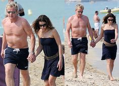 Pictures of Tana and Shirtless Gordon Ramsay in St Tropez