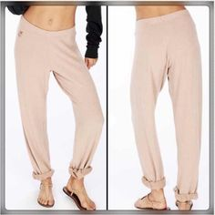 Wildfox Essentials Gidget Sweats When you put these on, it's like you're wearing nothing at all. So dreamy and comfy. Brand new with tags. Offers welcome. No trades. Bundle and save! Find me on Instagram @tijanala. Happy Poshing!  Wildfox Pants