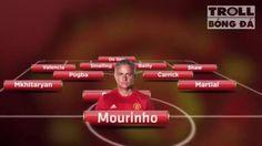 Với tình hình chấn thương như hiện tại thì đây sẽ là đội hình dự kiến của Manchester United đá đêm nay :)))))