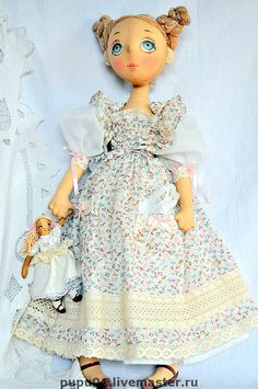 Collectible dolls handmade.  Fair Masters - handmade Annie.  Handmade.