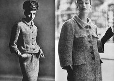 Balenciaga, 50s >> my mom used to make her own suits just like this...she was so talented!
