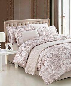Another great find on #zulily! Versailles Comforter Set #zulilyfinds
