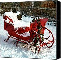 Christmas Sleigh Photograph by Andrew Fare - Christmas Sleigh Fine Art ...