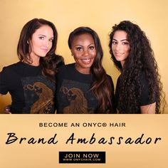 Partner with us! Do you have a beauty blog, YouTube page, or beauty related website? If so, partner with us as an ONYC Ambassador and earn major discounts/commission on all products!  Click photo to get more details >>   #brandambassador #beautyblogger #hair #bloggers #styleblogger #stylist #hairstyles #blackhair #blondehair #youtube #vlogger