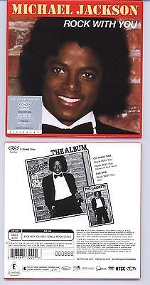 MICHAEL JACKSON ROCK WITH YOU - CD/DVD DUAL DISC No. 000858 - LOW NUMBER - http://www.michael-jackson-memorabilia.co.uk/?p=7169