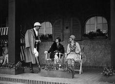 Ballsport, Polo: Spielpause auf dem Platz Berlin, Germany , 1928