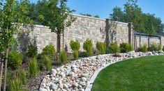 Becker Betonzaun betonzaun eine elegante innenhofgestaltung erreichen