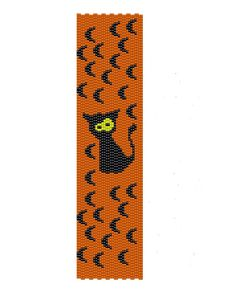 Black Cat Peyote Pattern