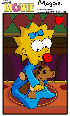 """Maggie from """"The Simpsons Movie"""""""