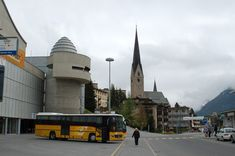 """Davos, Switzerland (train and bus station """"Davos Platz"""")"""