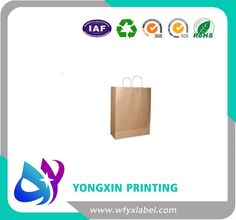 kraft paper bags with handle