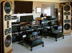BAT electronics & Legacy Audio Whisper speakers