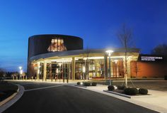 Hylton Performing Arts Center on the Prince William Campus. Photo courtesy of Creative Services, George Mason University