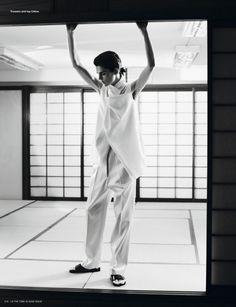 i-D Magazine   Capa e Editorial Verão 2013   Stella Tennant por Josh Olins  Blog de Moda