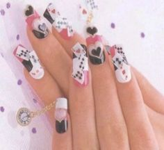 charming easter nail layouts - http://coolnaildesignsz.com/cute-easter-nail-designs-3/