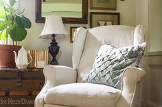 When I decided to slipcover my two recliners, I found there to be a shortage of information for recliners in particular. Slipcovering, sure. Upholstery, no problem. Slipcovering recliners, hmm, not so much. So, I got… View Post