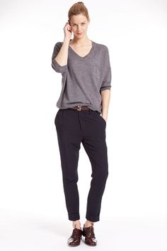 Zenggi cropped tailored pant (T05-1004 179 MAINE)