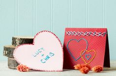 Make it a handmade holiday by crafting one of our 22 loveable decorations and gifts.