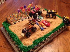 Coolest Monster Jam Birthday Cake... Coolest Birthday Cake Ideas