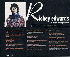 ♥ Richey Edwards ♥