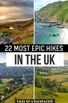 22 Most Epic Hikes in the UK. The Best Hikes in the UK - These are the best hikes in the UK for you to enjoy when it is safe to travel again, compiled from travel bloggers' favourite British hikes. #UK #Hiking #Walking #Britain #Hikes | Best Britisth Hikes | Walking Holidays in the UK