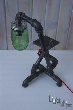 Lámpara tubo Industrial enlatada y con cubierta por LightMyPipe