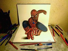 Even More Colorful, Awe-Inspiring 3D Sketchbook Illustrations by Hideyuki Nagai