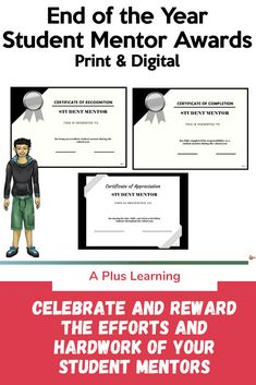 Digital Certificate, Certificate Of Appreciation, Student Awards, Certificate Of Completion, Reading Strategies, High School Students, My Teacher, Work Hard, School Stuff